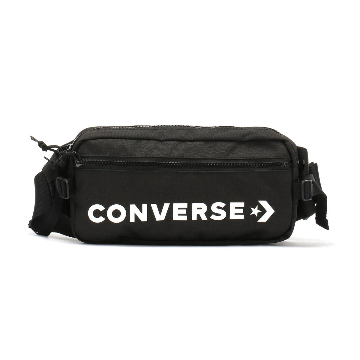e7fc46e07aee Lyst - Converse Black   White Fast Pack Sling Bag in Black for Men