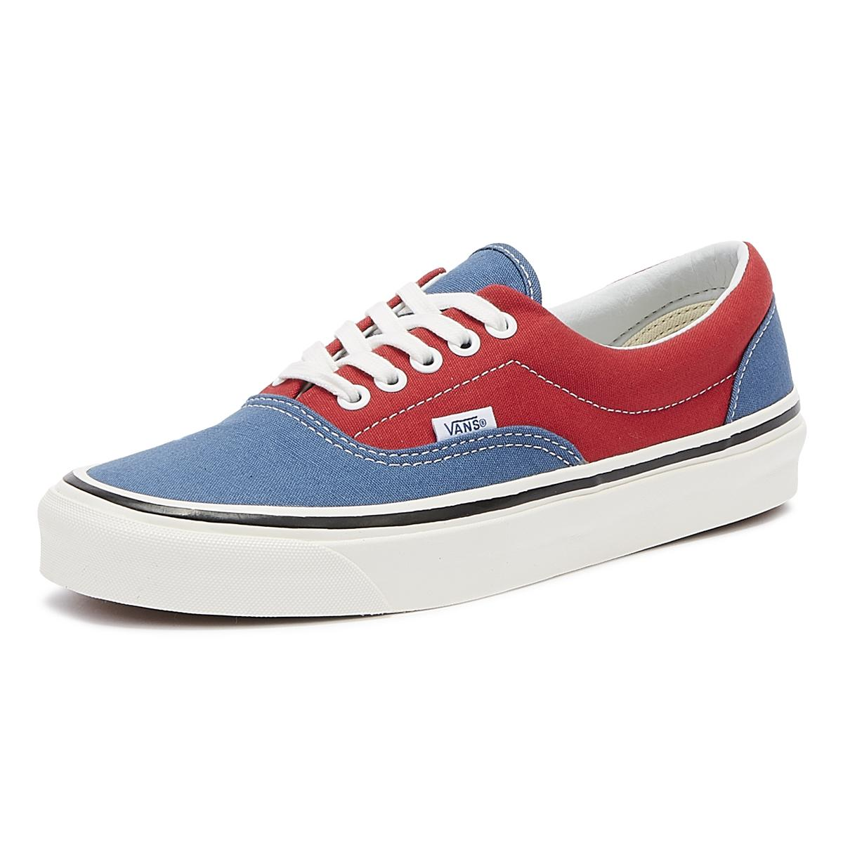 15d2c68d41a96 Lyst - Vans Anaheim Factory Era 95 Dx Mens Navy / Red Trainers in ...