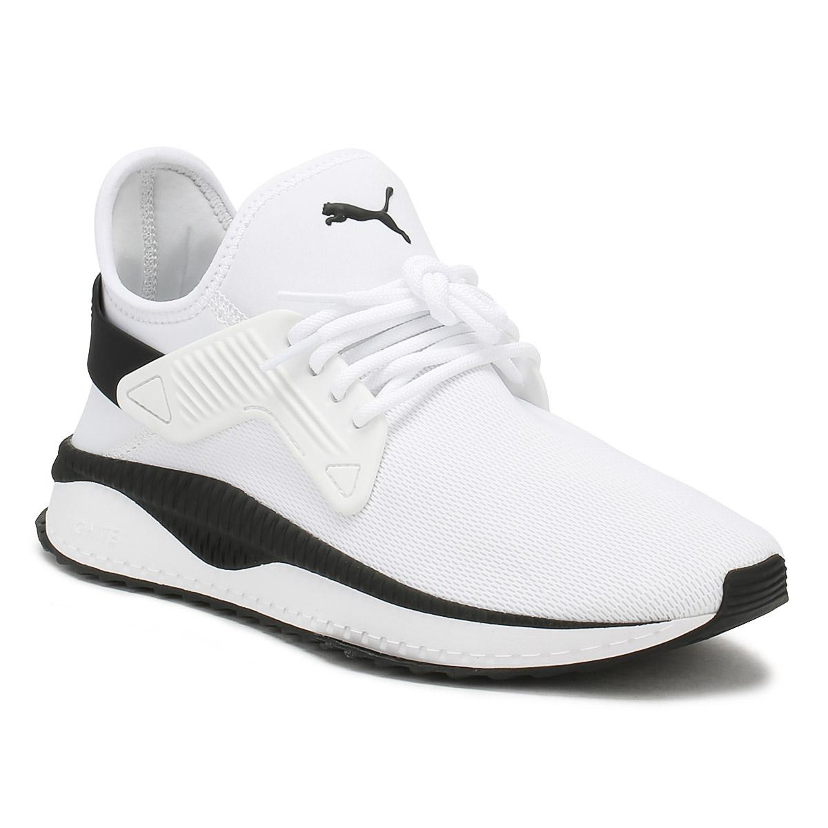 6be0a95614d3 PUMA Mens White Tsugi Cage Trainers in White for Men - Lyst