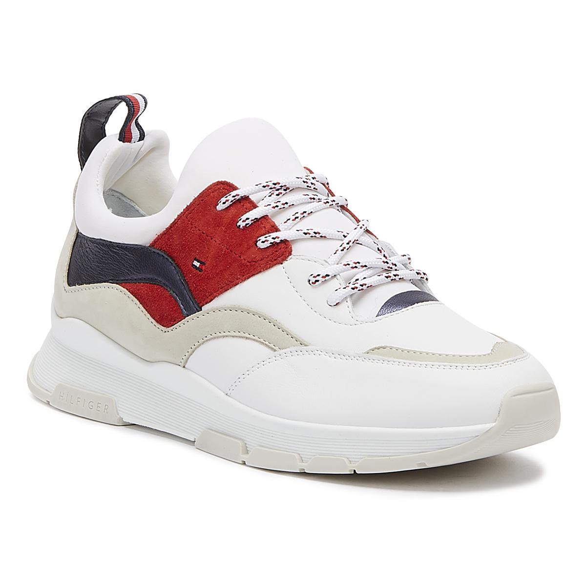 d1e874077 Lyst - Tommy Hilfiger Lifestyle Womens Rwb Trainers in White
