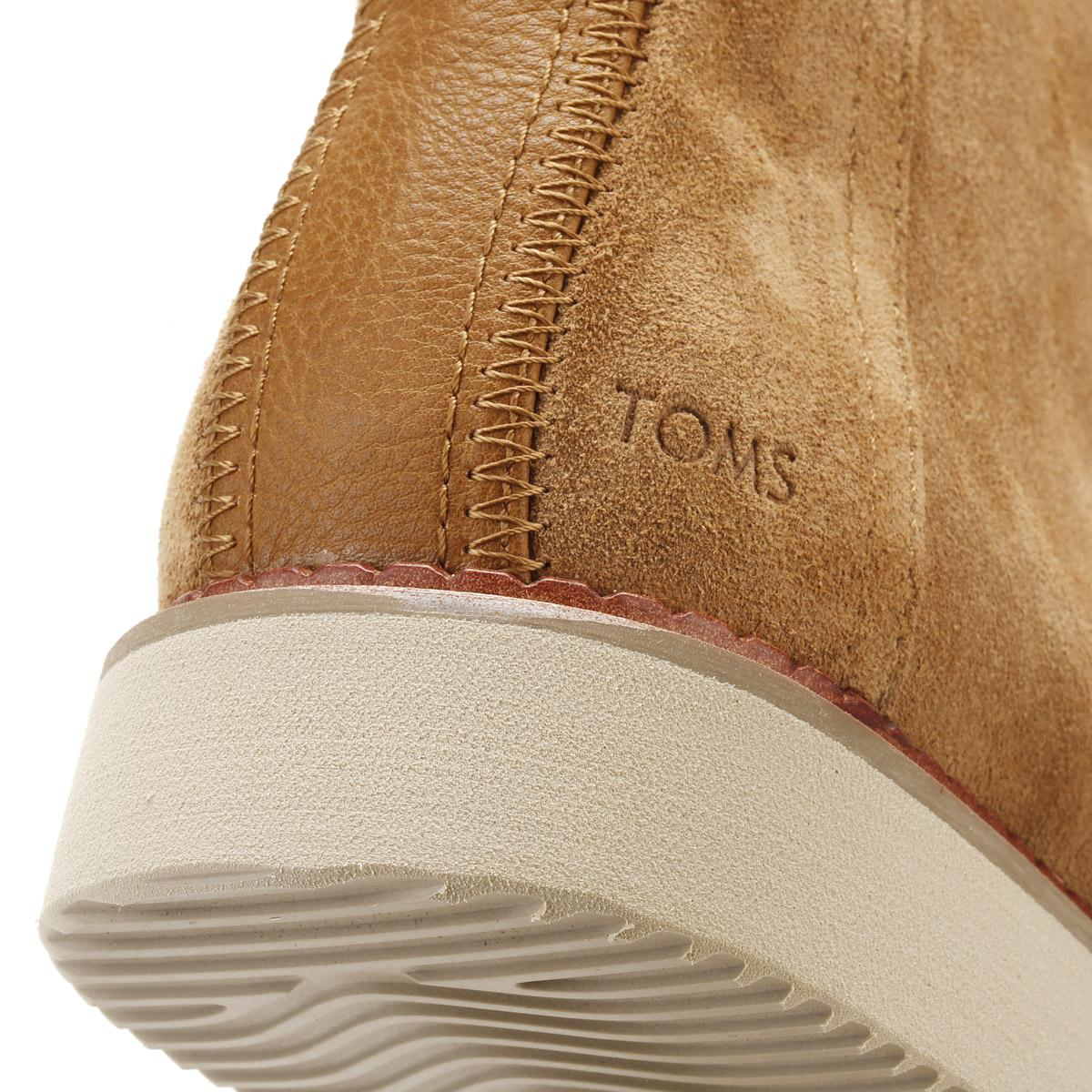 3e4a906eabd TOMS Mens Toffee Brown Suede Porter Boots in Brown for Men - Lyst