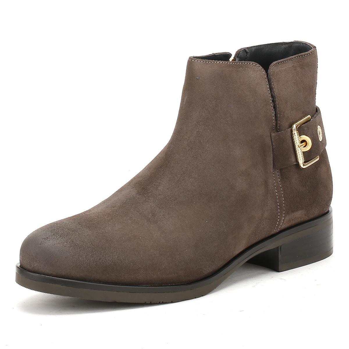 5950daa8 Tommy Hilfiger Womens Black Coffee Tessa 1b Ankle Boots Women's Low ...