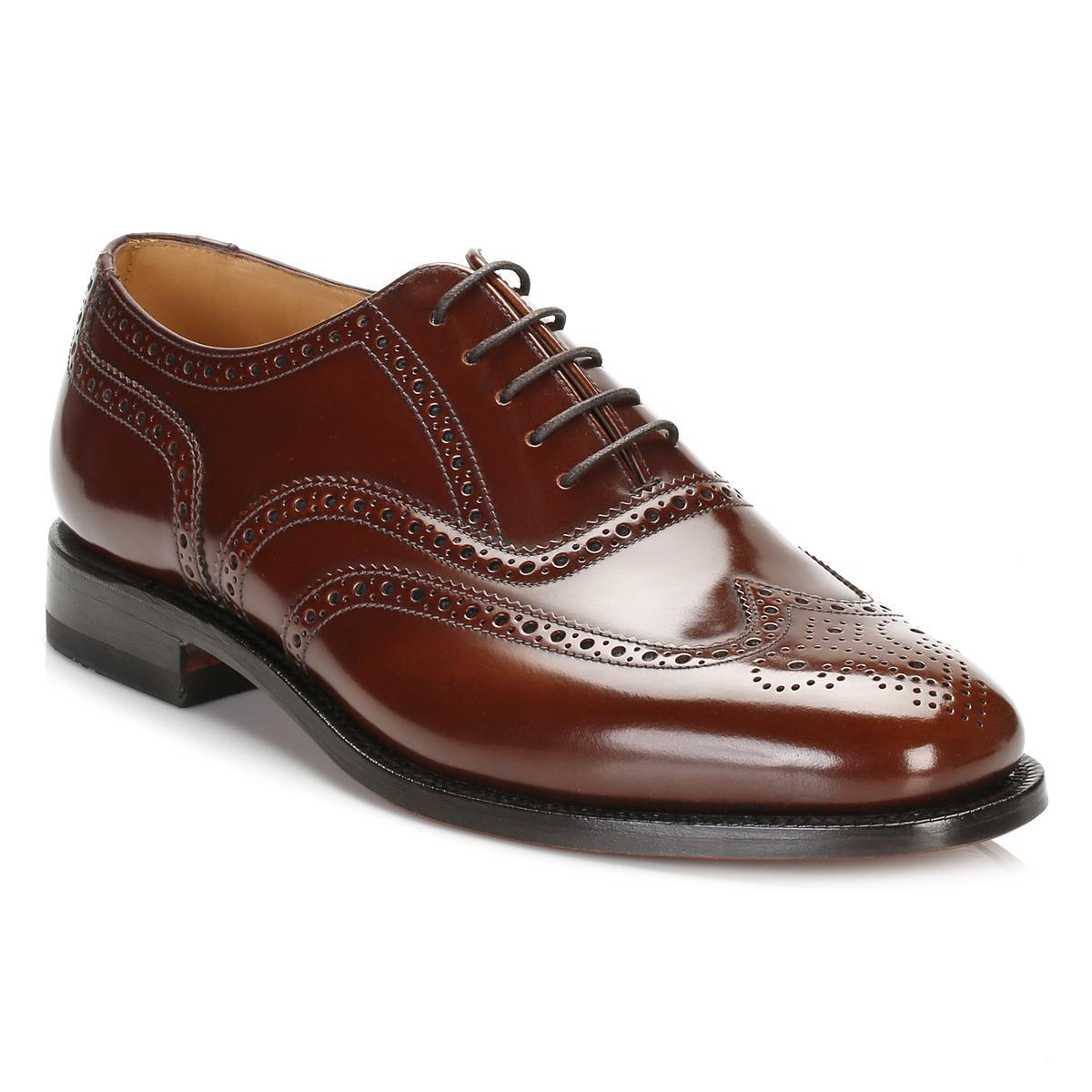 Loake B Mens Brogue Shoes