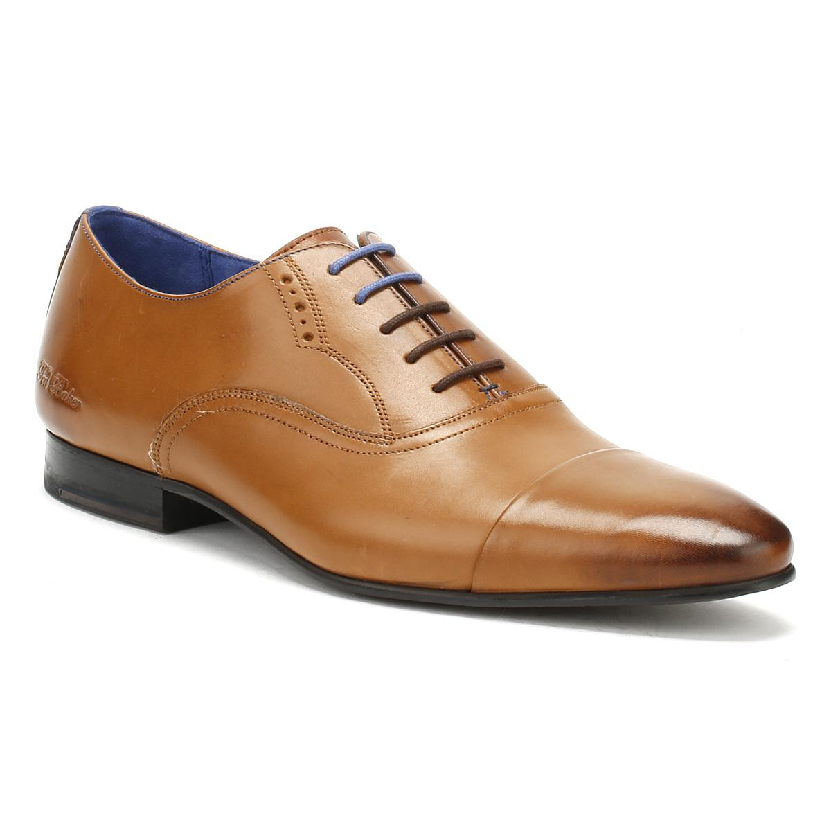 d0442d45627b1d Lyst - Ted Baker Mens Tan Leather Murain Shoes in Brown for Men ...