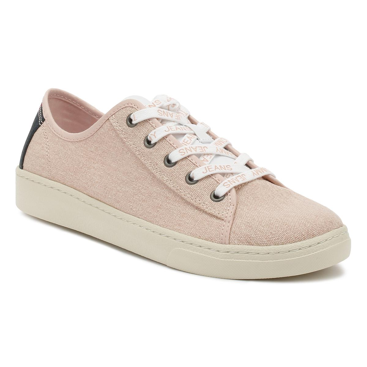 e323c4752dd625 Tommy Hilfiger Tommy Jeans Womens Rose Cloud Low Trainers - Lyst