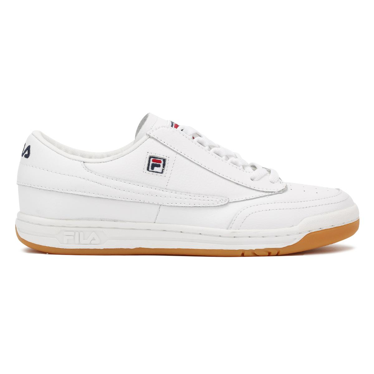 2cc82b69f8a9e2 Fila White / Gum Original Tennis Trainers in White for Men - Lyst