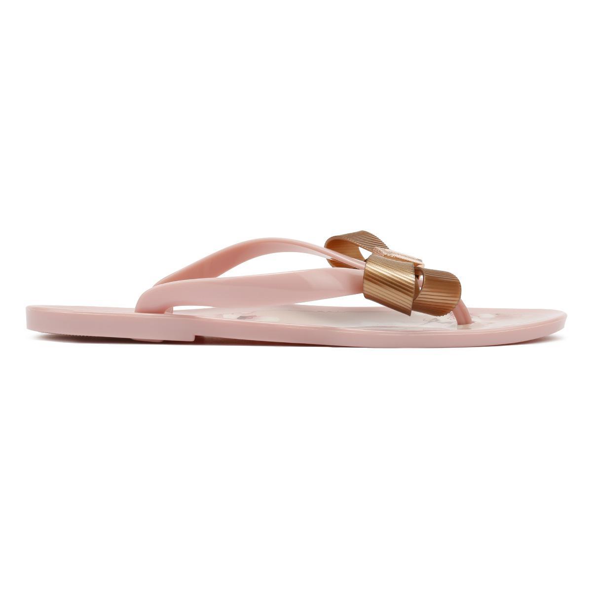 06299380ef2c58 Ted Baker Womens Blossom Pink Susziep Flip Flops in Pink - Lyst