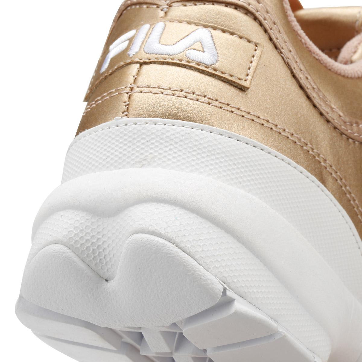 520fe1af984 Fila Disruptor Ii Womens Metallic Rose Gold Premium Trainers in ...