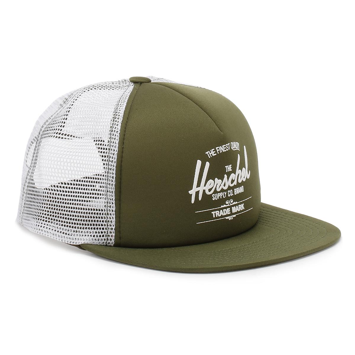 ec30210ef36 Lyst - Herschel Supply Co. Army Whaler Mesh Snapback Cap in Green ...