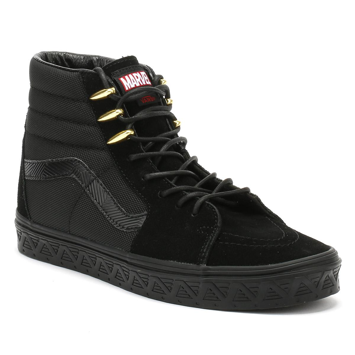 dfd8b90ac7 Vans Marvel Black Panther Sk8-hi Trainers in Black for Men - Lyst