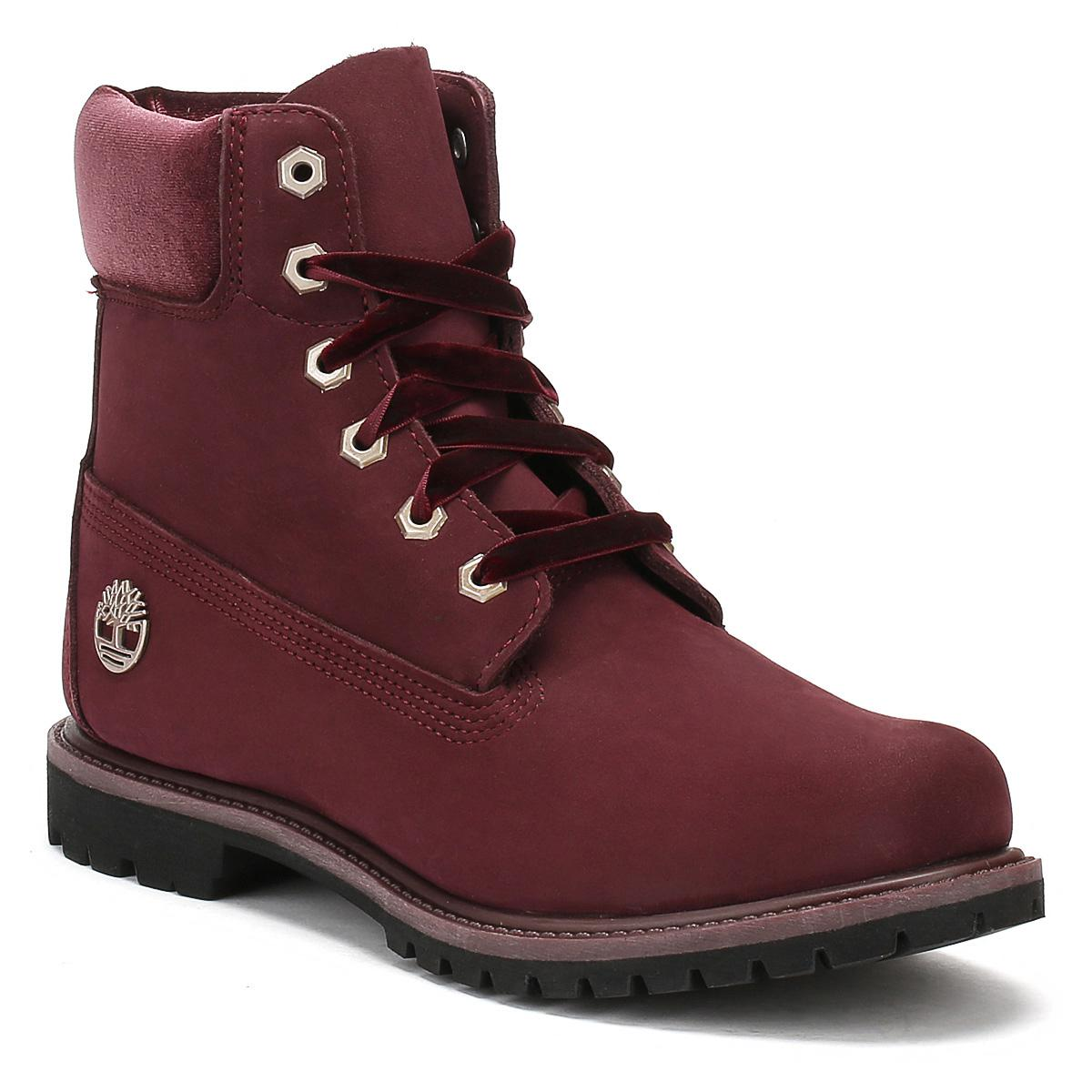Lyst - Timberland Womens Jewels Pack Red Port 6 Inch Boots in Red