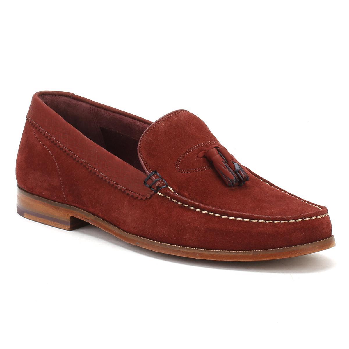 Mens Tan Nubuck/Suede Dougge Shoes
