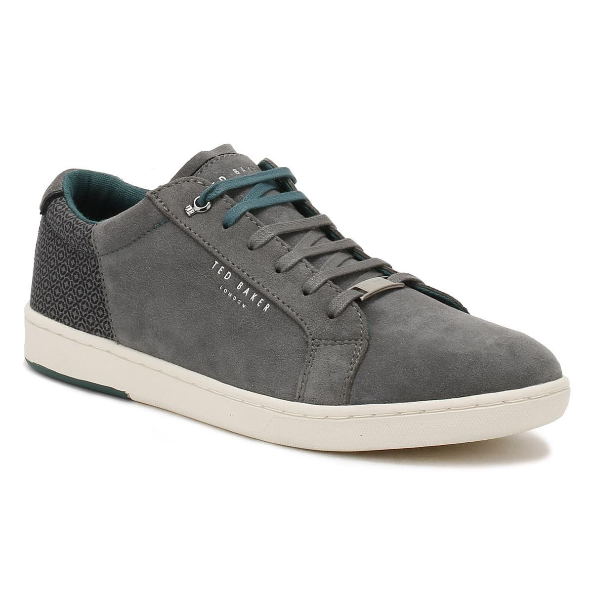 Ted Baker Grey Leather Mens Shoes