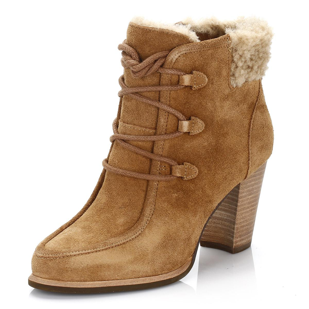 Ugg | Ugg Womens Chestnut Brown Analise Suede Boots | Lyst. View Fullscreen