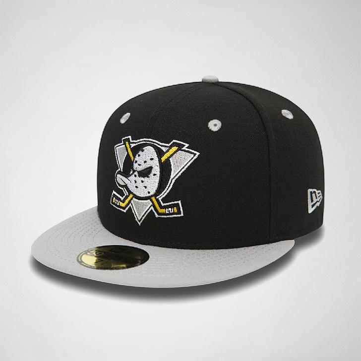 191b0a65d ... ireland ktz new era nhl team classic anaheim ducks hats in black for  men lyst 5f018