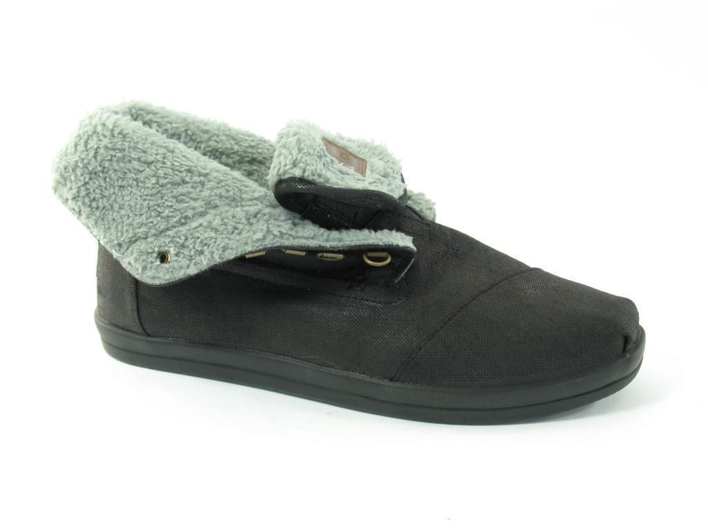 3ff835eaca1 Toms Botas Highlands Black Boots in Black for Men - Lyst