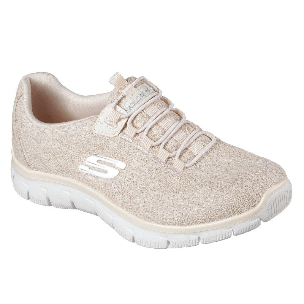 5a9358dc3a8d Skechers Empire Spring Glow Trainers in White - Lyst