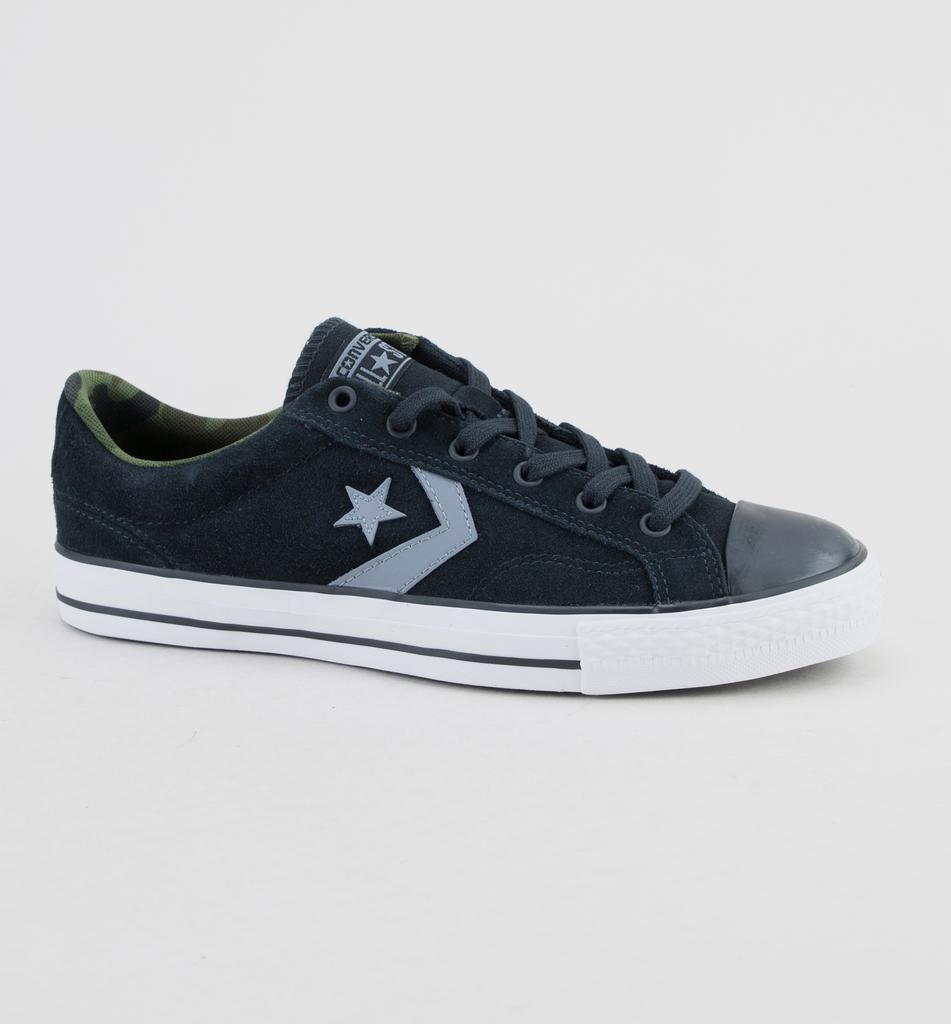406fb011bf3 Converse 159727c Star Player Ox Black-cool Grey-white Trainers for ...