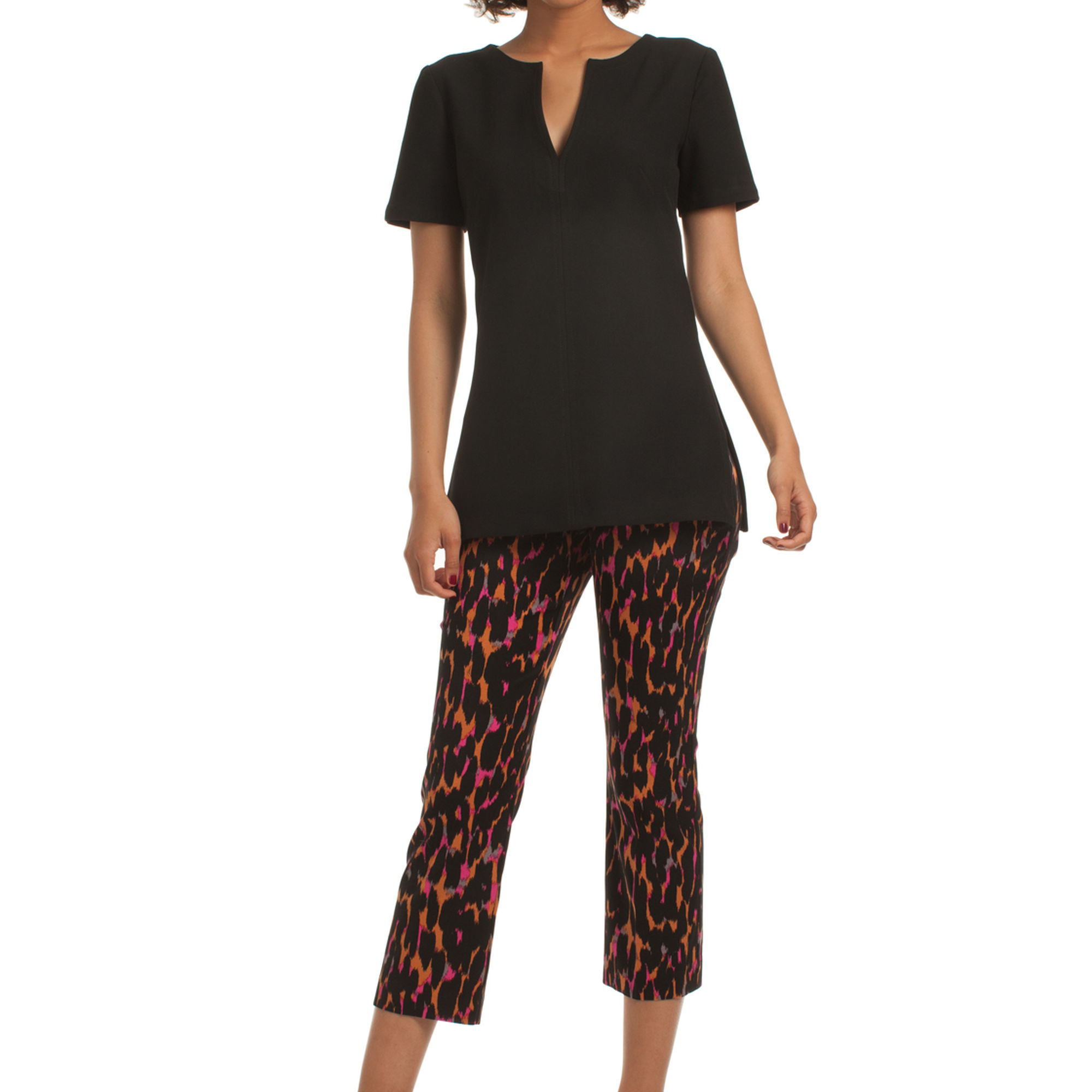 Lyst Trina Turk Spirited Top In Black