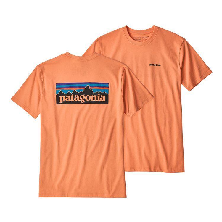 48fa26da4 Patagonia P-6 Tee in Orange for Men - Lyst