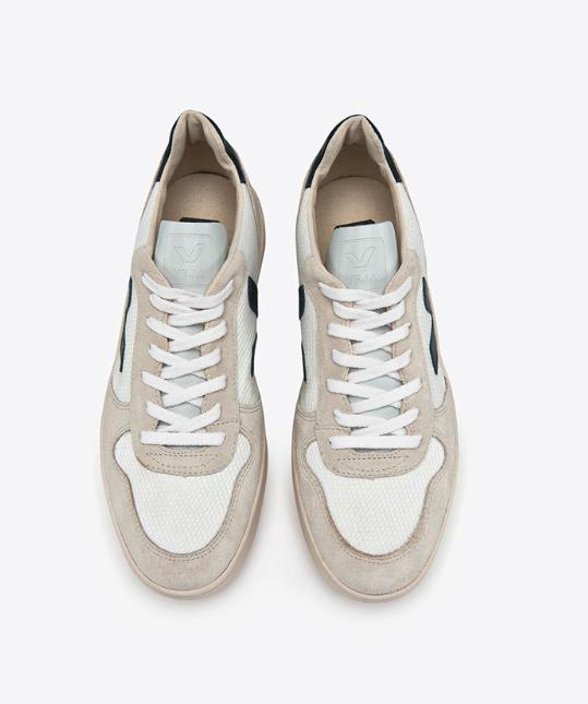 special section shopping best service Veja - V-10 B Mesh White Nautico Ladies Trainers - Lyst