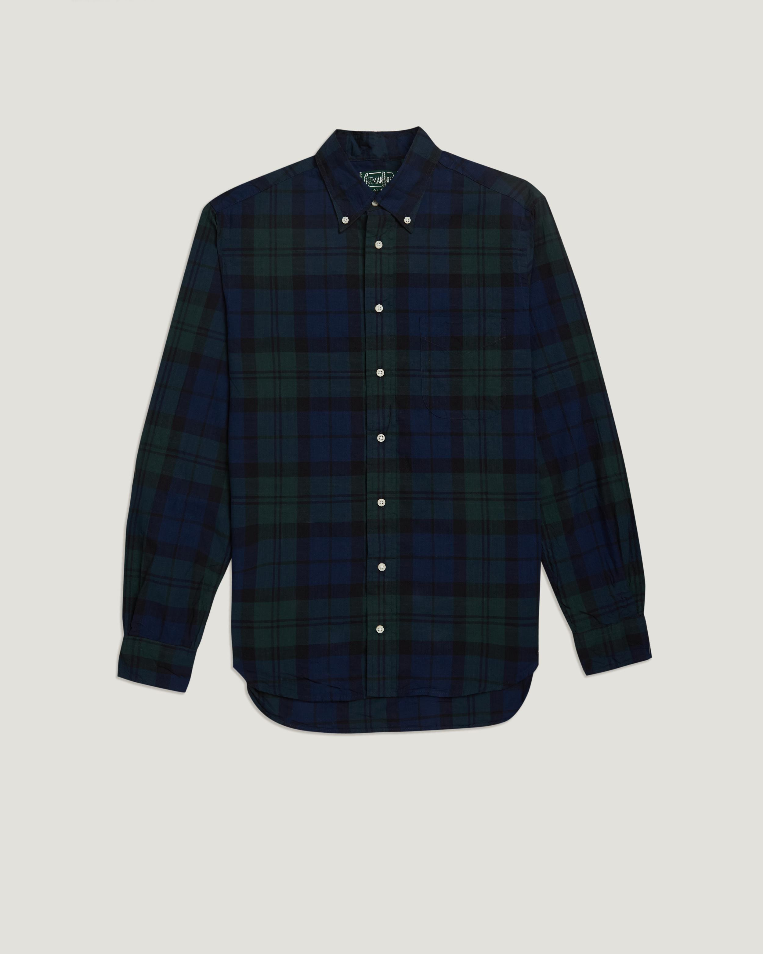 Lyst Gitman Brothers Vintage Cotton Shirt In Blue For Men