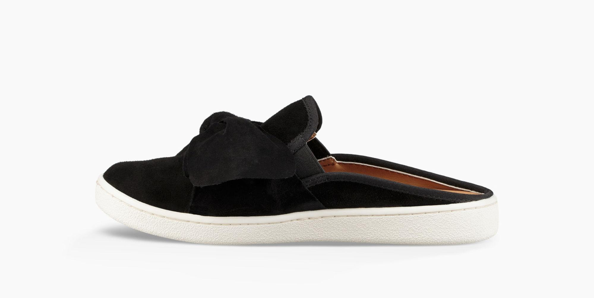 Lyst Ugg Luci Bow Slip On In Black Zipora Jeans Gallery