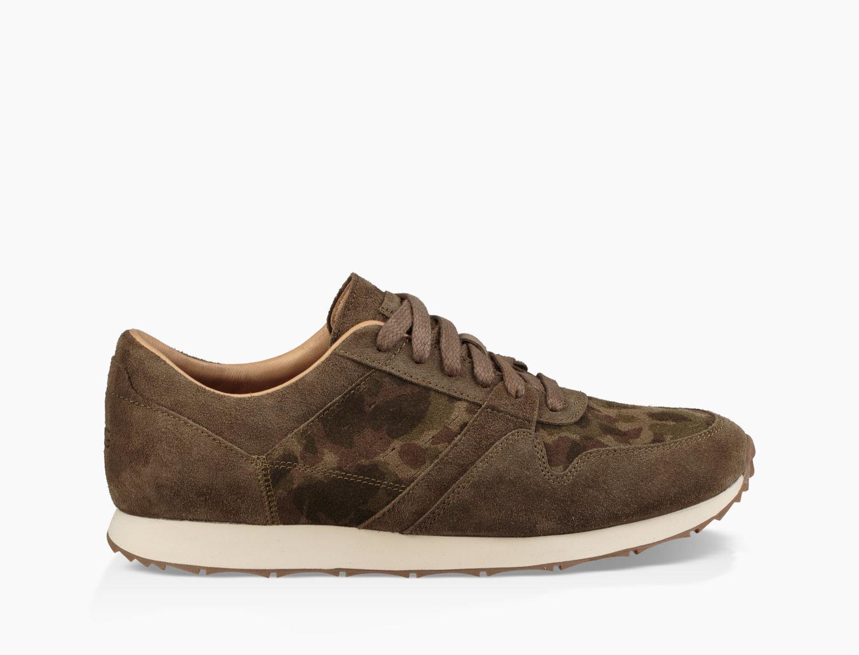 Sneaker TRIGO suede Logo camouflage khaki UGG 8atw689oiz