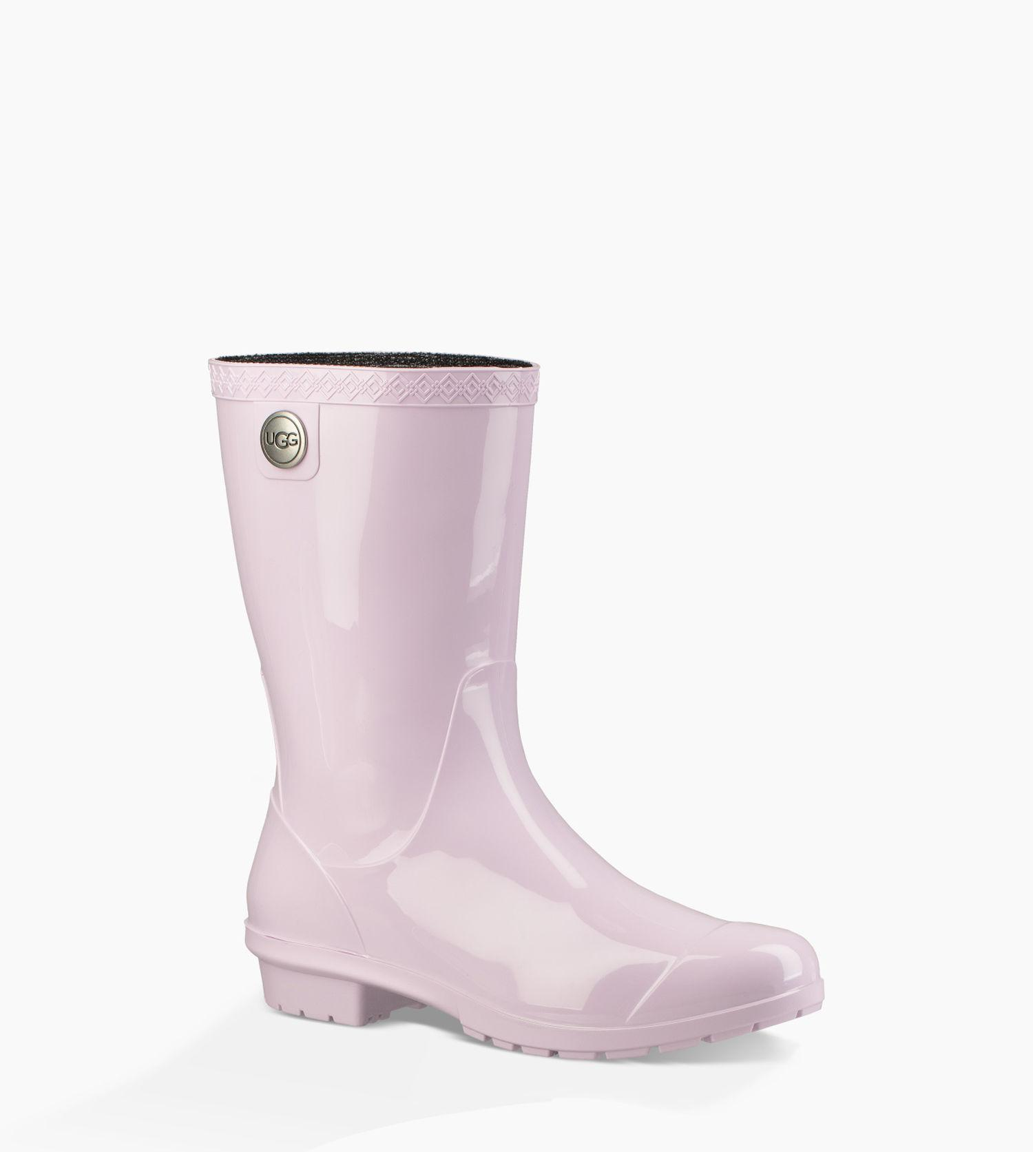 dc93fd73cbf Lyst - UGG Women's Sienna Rain Boot in Purple