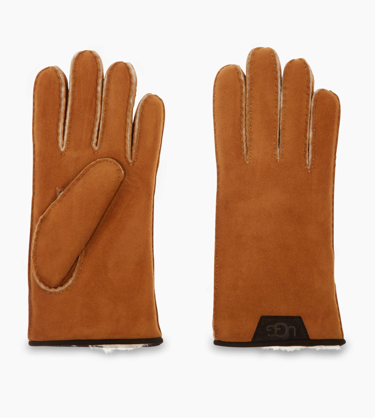 392cf4d3fe3 UGG Men's Sheepskin Glove With Leather Trim in Brown for Men - Lyst