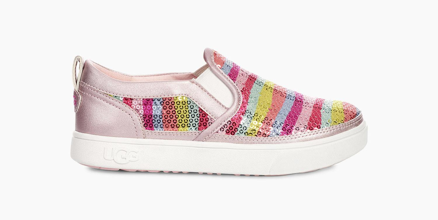 12ffa26cc268 UGG Kids  Caplan Mural Trainer in Pink - Lyst