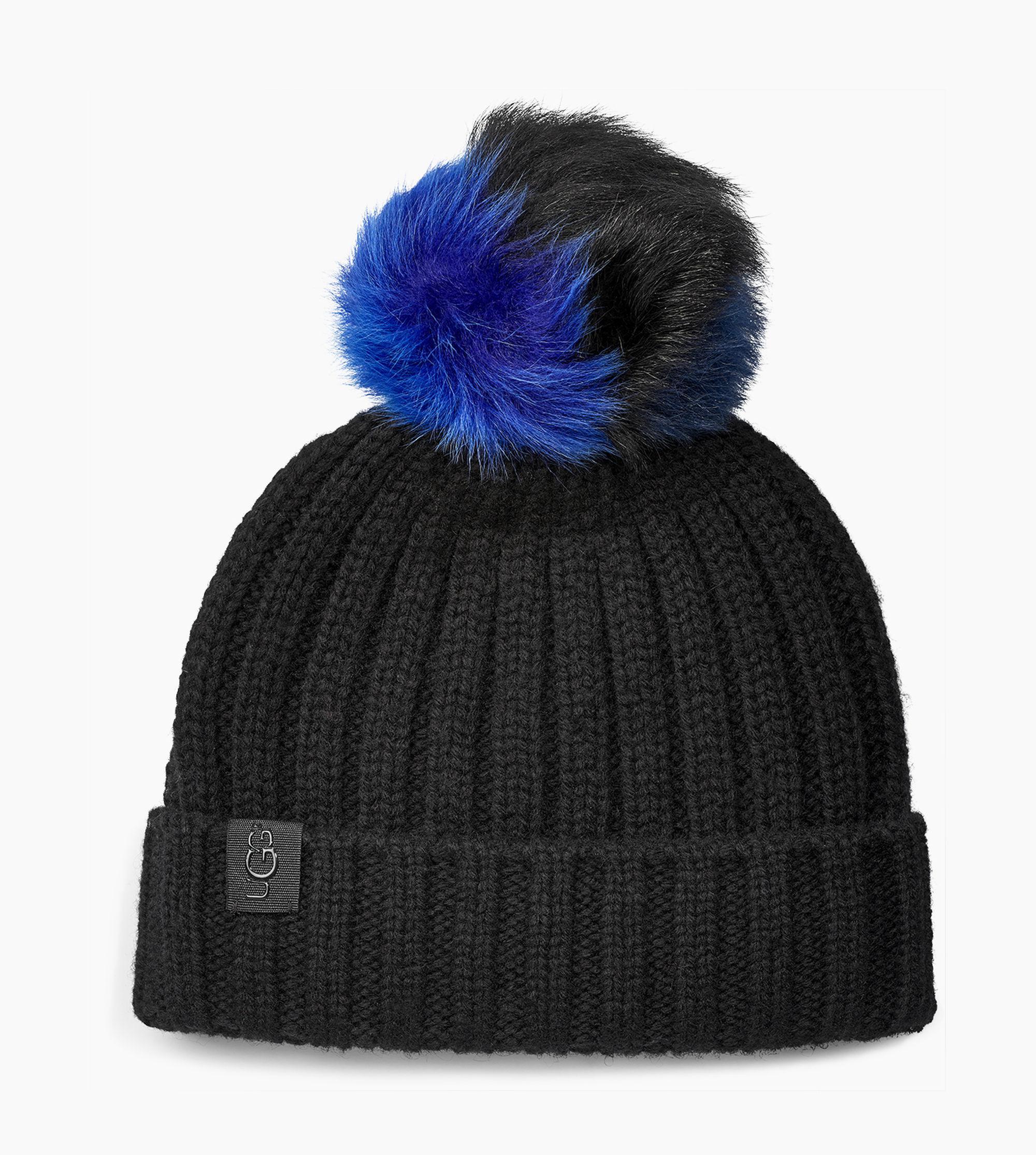 710dfc3639f Lyst - UGG Multi Pom Hat Multi Pom Hat in Black
