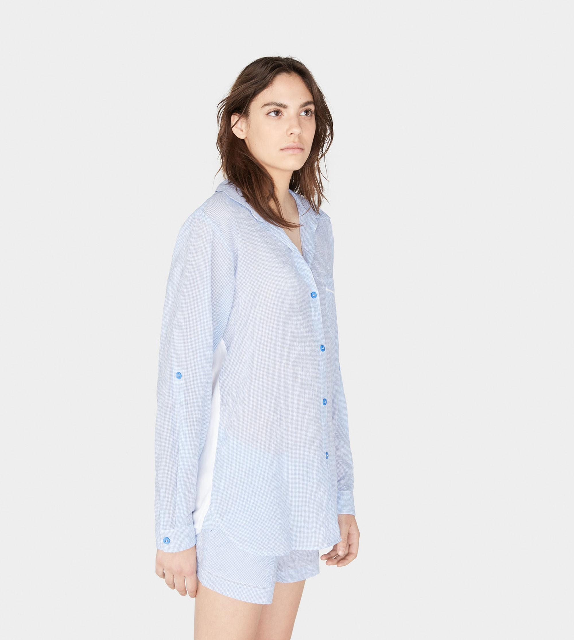 f84d3ba0f1d UGG Maisie Gingham Pj Top in Blue - Lyst