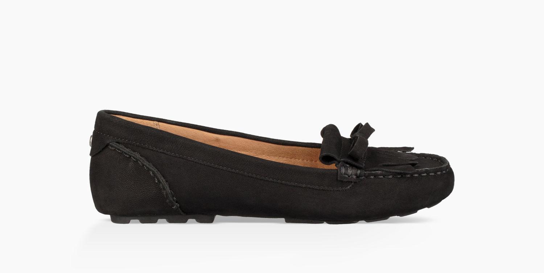 216dd55d6b3 UGG Women s Whitley Loafer in Black - Lyst