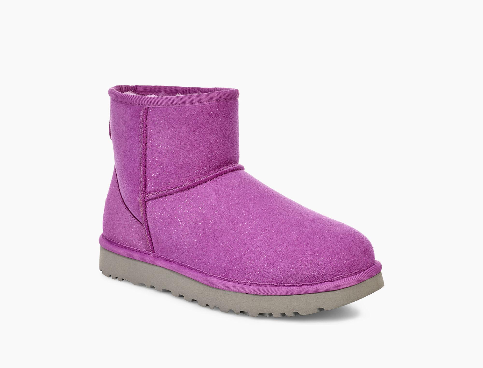 lyst ugg classic mini milky way classic mini milky way in purple rh lyst com