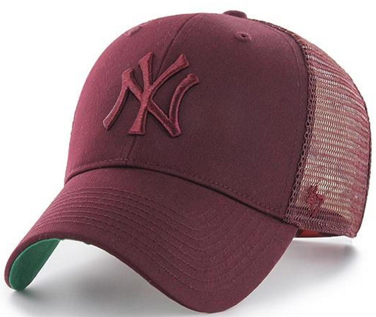 3d3587432f7 47 Brand New York Yankees Branson Mvp Trucker Cap in Purple for Men ...