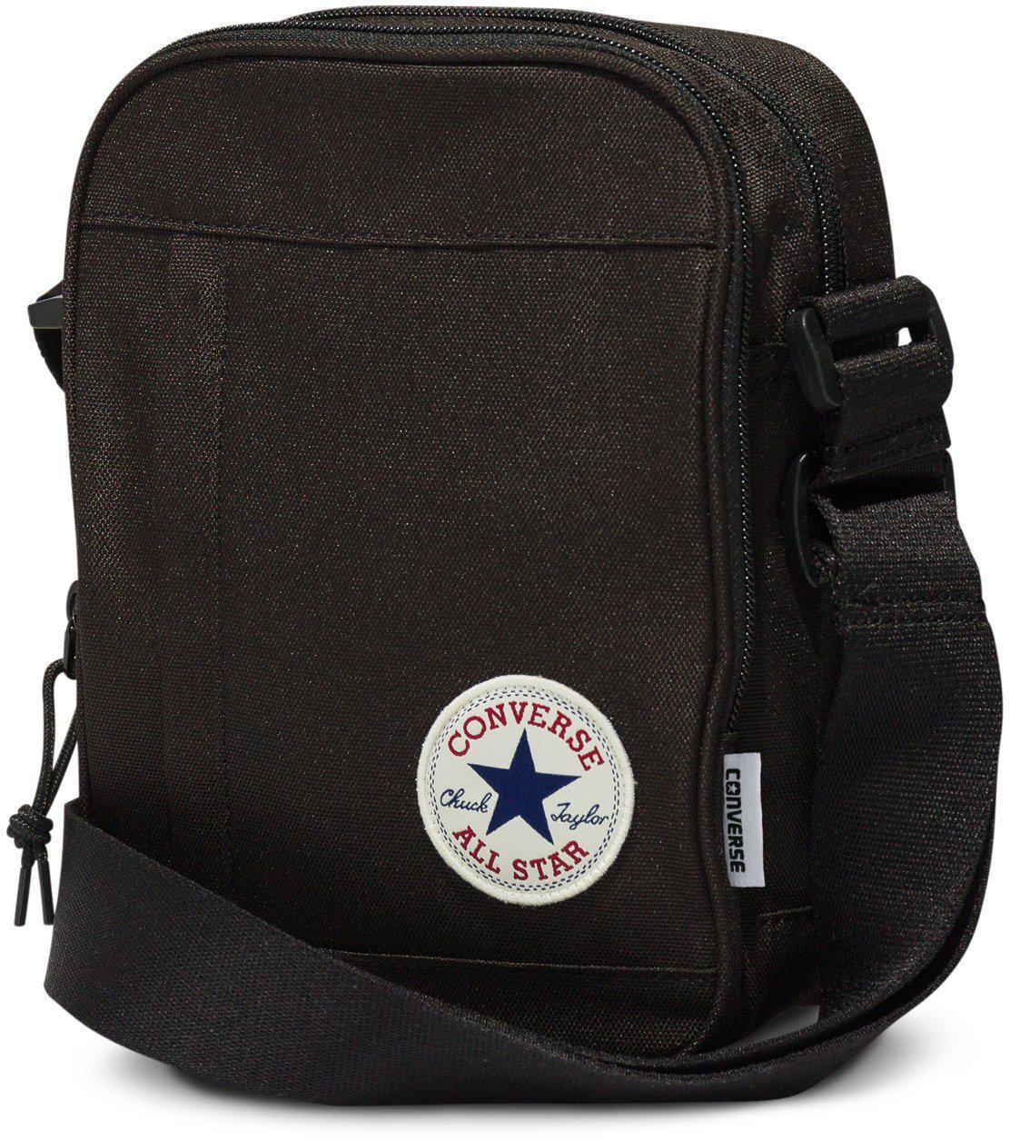 Converse - Black All Star Cross Body Messenger Bag for Men - Lyst. View  fullscreen 1e8a893d4275a