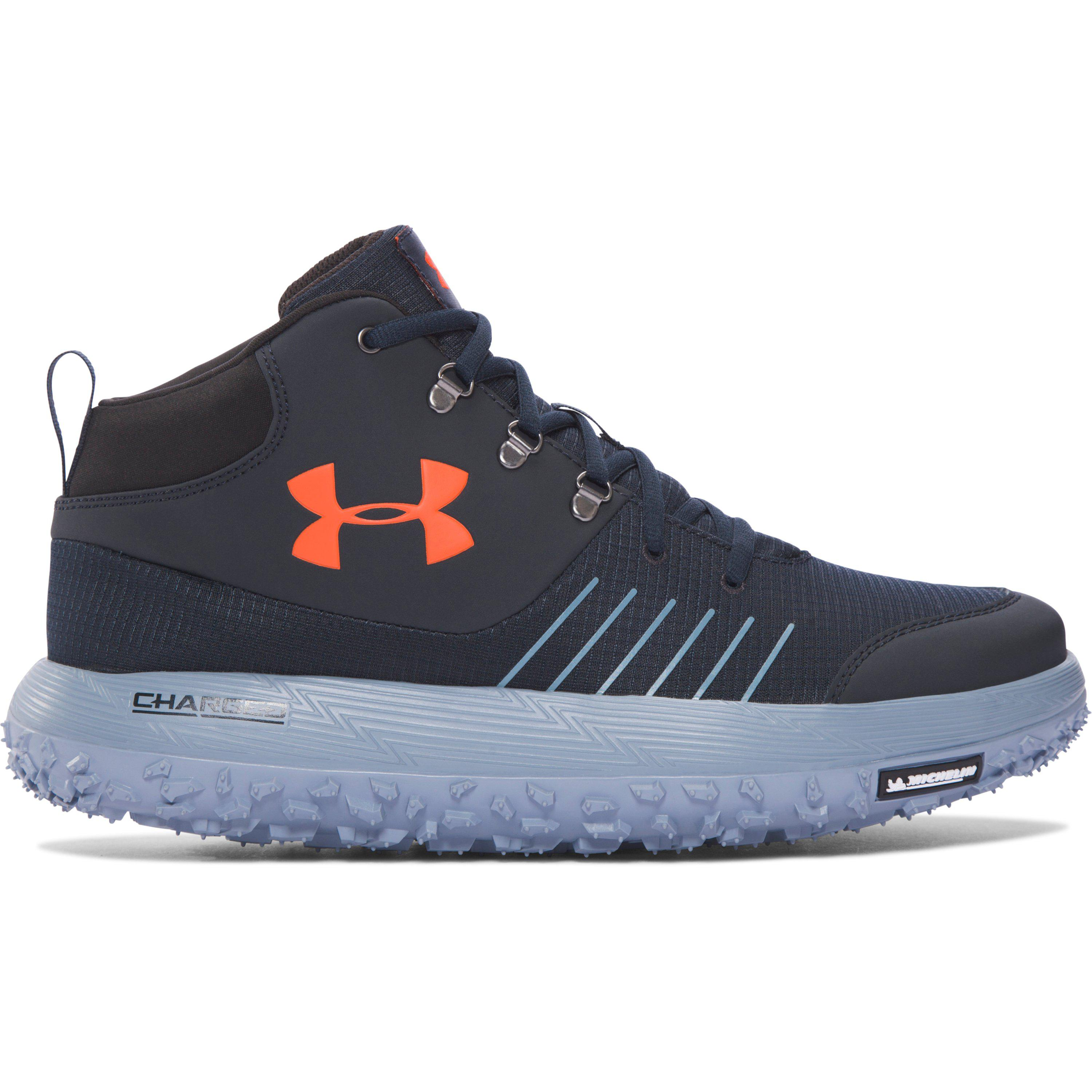 408fd785cd2 Under Armour Men's Ua Overdrive Fat Tire Hiking Boots in Blue for ...