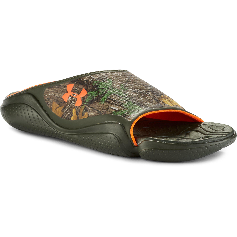 dfd02adf1177 Lyst - Under Armour Men s Ua Compression Ii Camo Sandals for Men