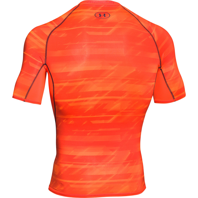 e80bffd57 Lyst - Under Armour Men's Ua Heatgear® Armour Printed Short Sleeve ...