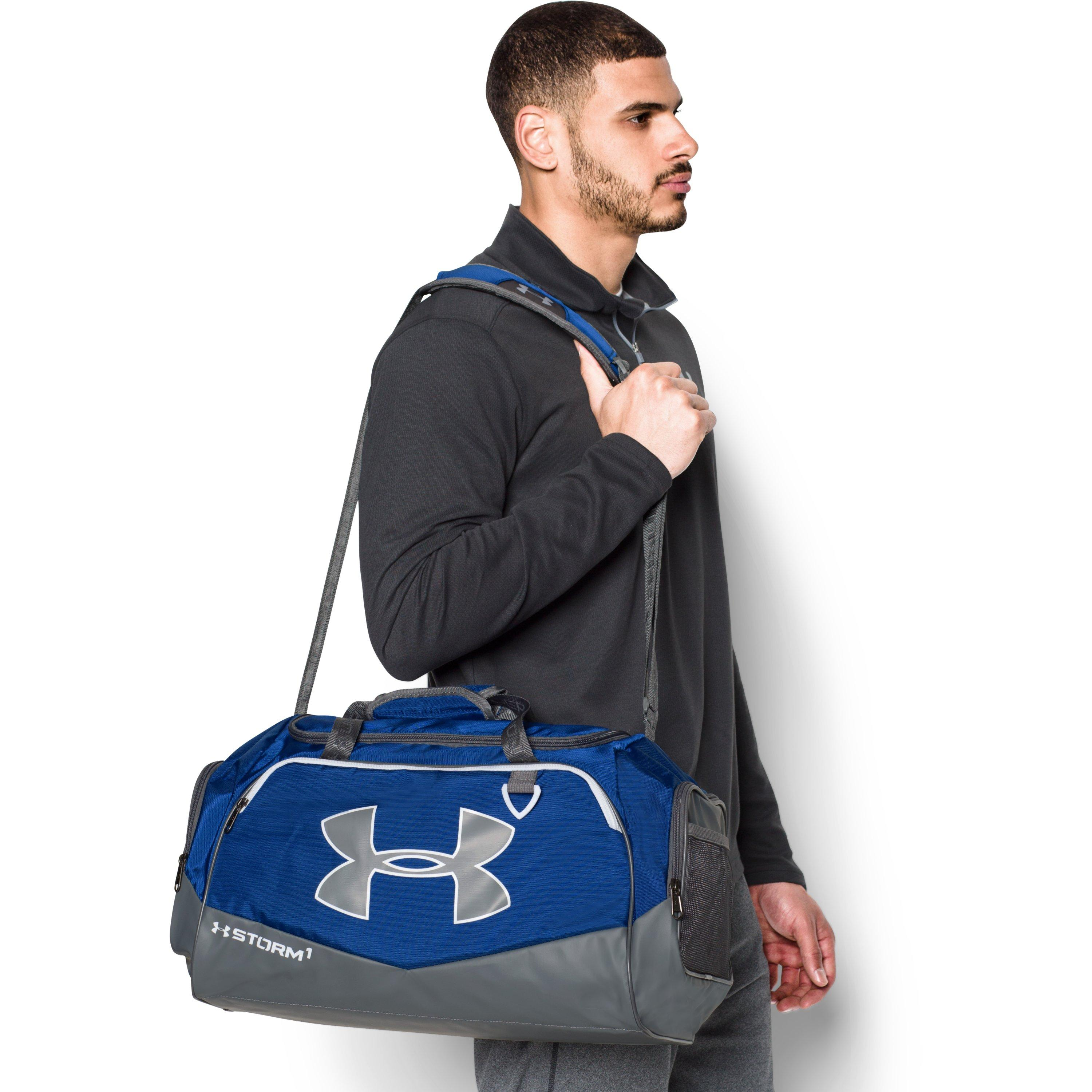 a5f0772bbcd Under Armour Ua Storm Undeniable Ii Sm Duffle in Black for Men - Lyst
