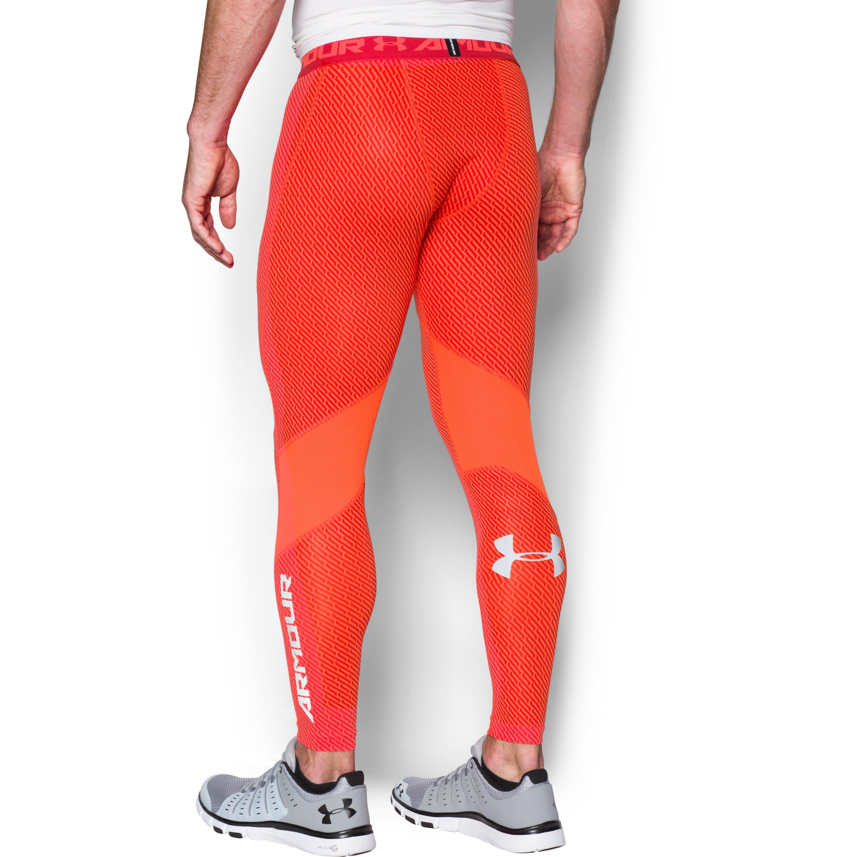 b8763385cee99 Under Armour Men's Ua Coolswitch Compression Leggings in Orange for ...
