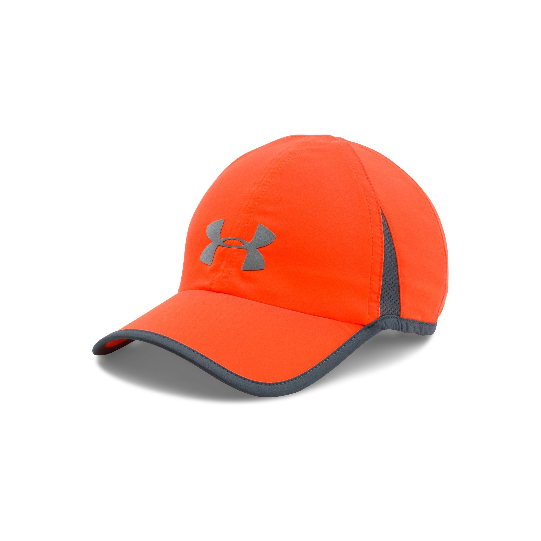 Lyst - Under Armour Men s Ua Shadow 4.0 Run Cap in Orange for Men ccbc669348d6