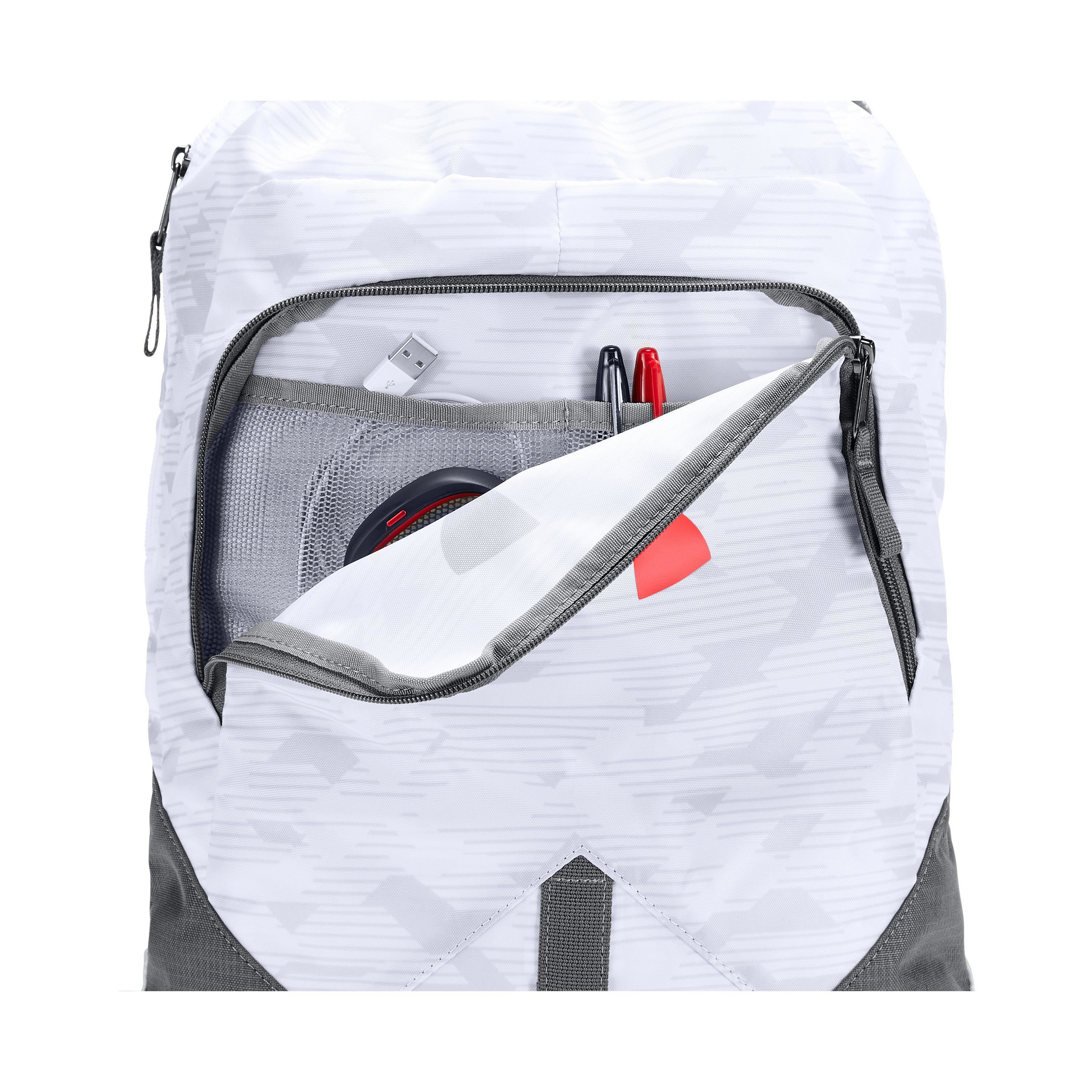 0931a11a195 Under Armour Ua Undeniable Sackpack in White - Lyst