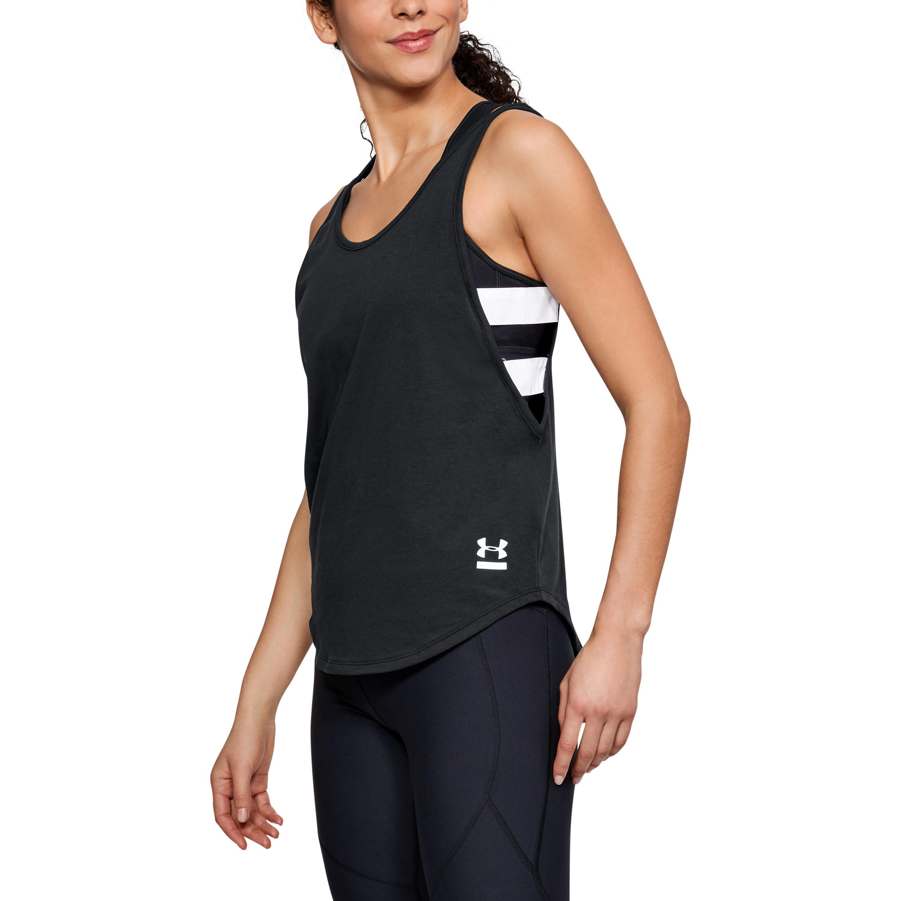 5dce637a56 Womens UA LV Opportunity Tank Under Armour US Products