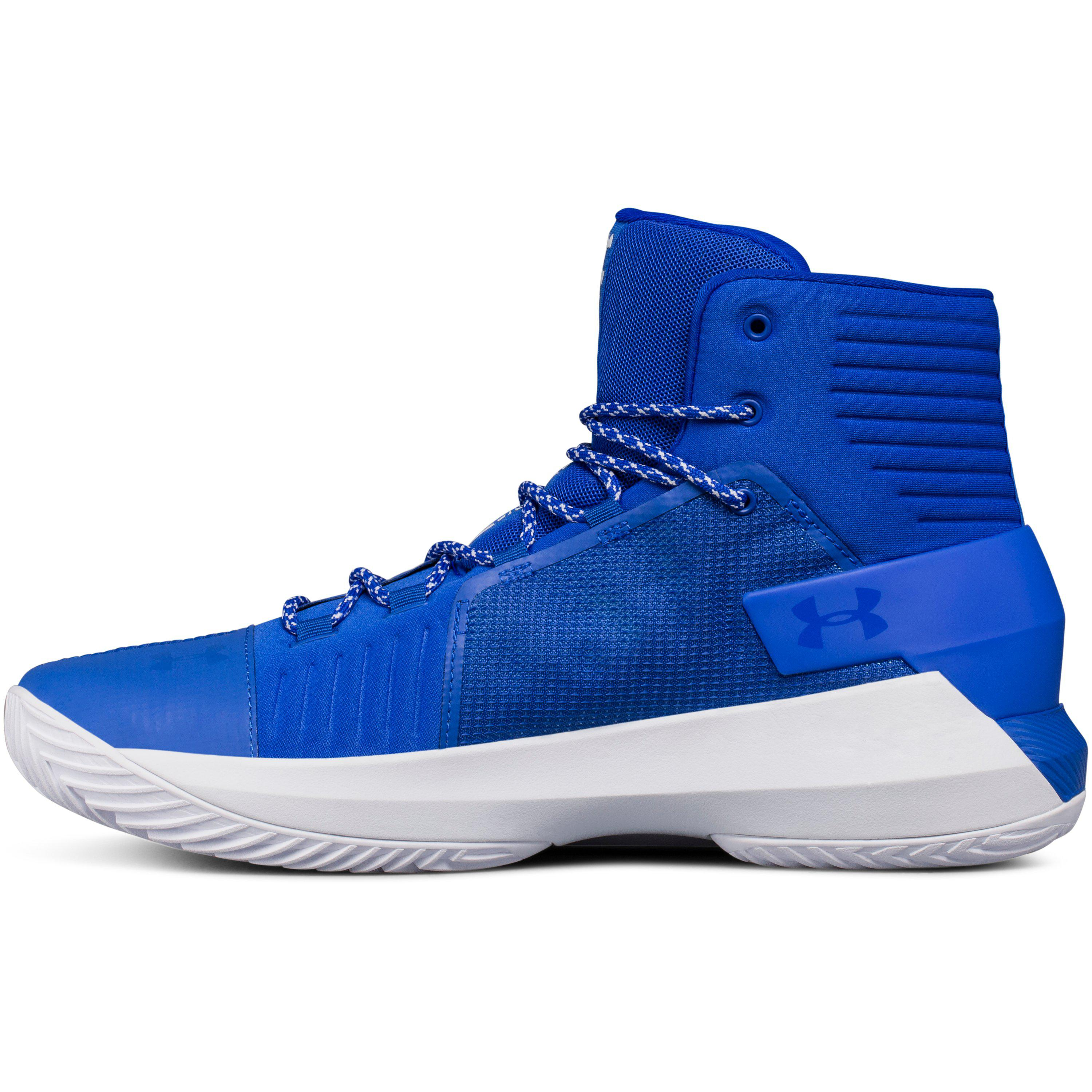 028cb364e0e Lyst - Under Armour Men s Ua Team Drive 4 Basketball Shoes in Blue ...
