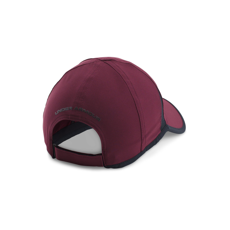 buy online 927b3 a1f22 ... black hat 7eb75 3f862  australia czech lyst under armour mens ua shadow  4.0 run cap in red for men eaa42