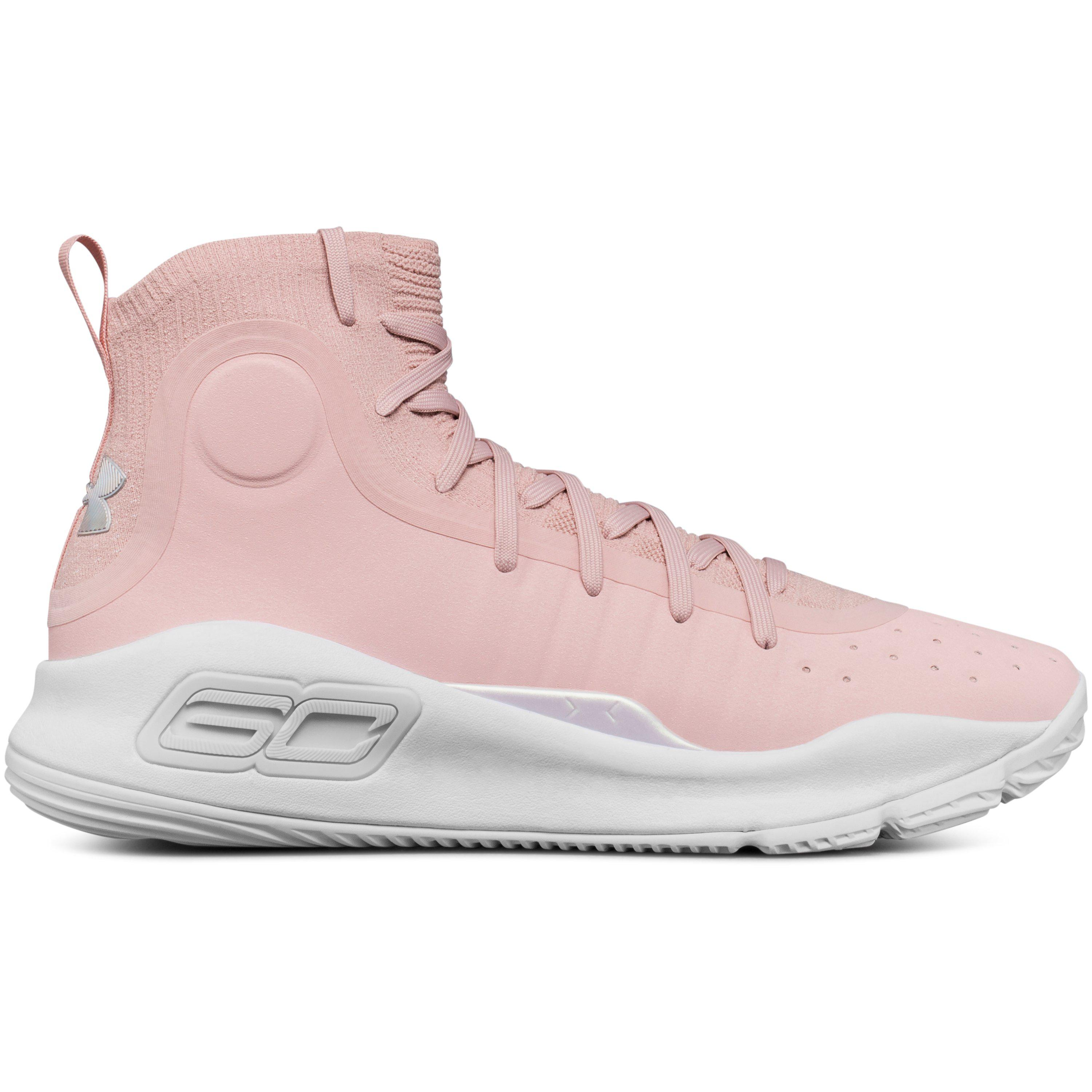 bf413c2512c Under Armour Men s Ua Curry 4 Basketball Shoes in Pink for Men - Lyst