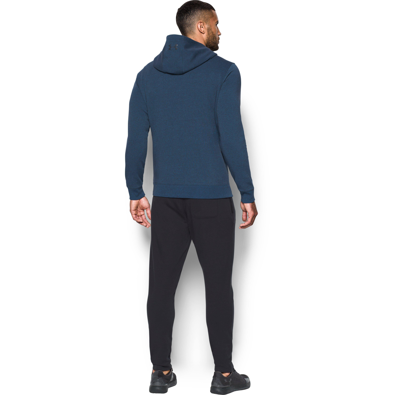 ee980b6e61214 Lyst - Under Armour Men s Ua Threadbornetm Fleece Hoodie in Blue for Men