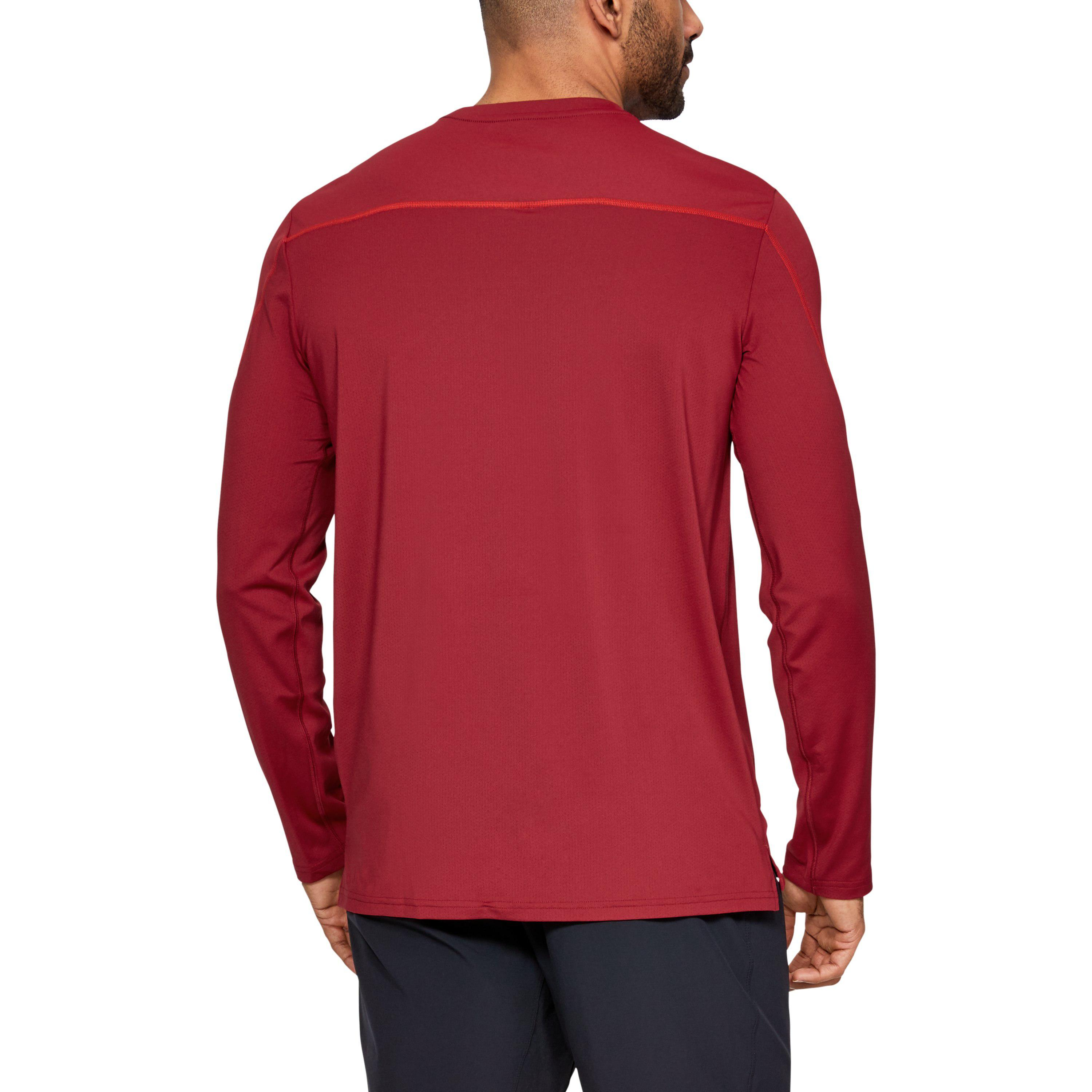b4834a7758 Under Armour Men's Ua Sun Armour Graphic Long Sleeve in Red for Men ...